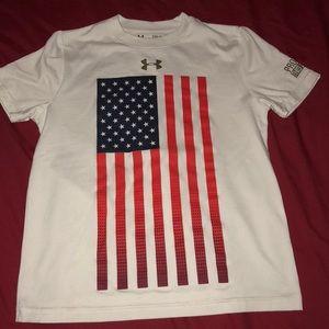 25e835a30b Boys under Armour USA shirt